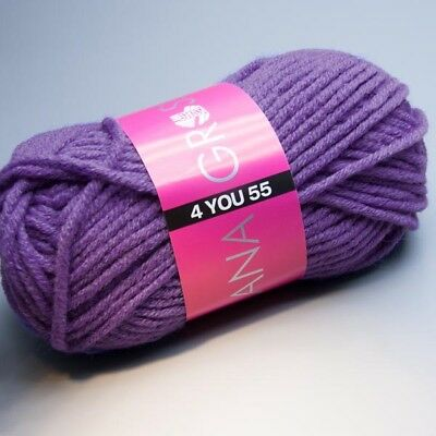Lana Grossa 4 YOU 55 -  509 veronica 50g Wolle (3.90 EUR pro 100 g)