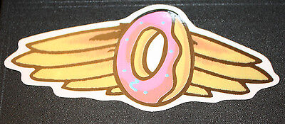 ODD FUTURE OFWGKTA Sticker WING DONUT BAND LOGO decal New TYLER THE CREATOR