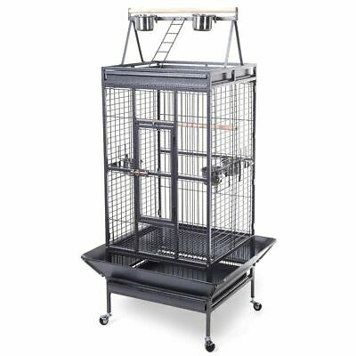 New Bird Cage Large Play Top Parrot Finch Cage Macaw Cockatoo Pet Supplies