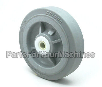 "Colson Performa, Wheel 6"" X 1-1/2"", 1/2"" Axle, Great For Most Buffers, Carts"