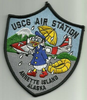 Us Coast Guard Uscg Air Station Annette Island Alaska Military Patch Donald