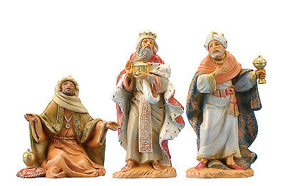 FONTANINI POLYMER CENTENNIAL COLLECTION THREE KINGS SET OF 3 NATIVITY WISE MEN