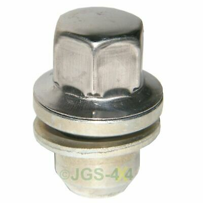 Land Rover Range Rover L322 Alloy Wheel Nut Stainless Steel Capped - RRD500290