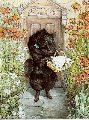 Beatrix Potter Pomeranian Pie And The Patty-Pan Art Artwork Poster Print Reprint