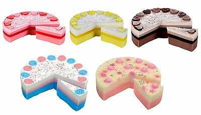Bomb Cosmetics Handmade Soap Cake Slices 160g with Essential Oils