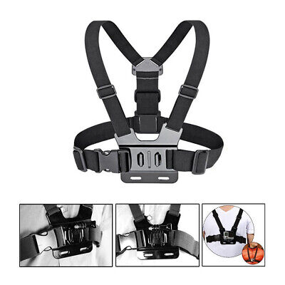Chest Mount Harness Adjustable fits GoPro HD Hero 2, 3, 3+ 4 5 6 Accessories