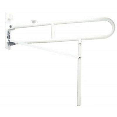 Drop Down Toilet Safety Rail With Support Leg Toilet Grab Bar Disability Aids