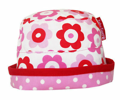 TOBY TIGER REVERSIBLE Sunhat 3-6-9-12 Mth Girls Clothing Summer ... 8a5b2883170c