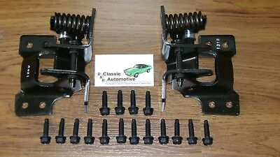 Door Hinges Set Camaro Nova Pair Lower w/ Mounting Bolts kit 18pc In Stock hinge