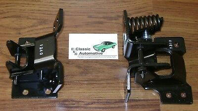 Door Hinge Set Passenger Side Upper Lower Pair Camaro Firebird Nova **In Stock**