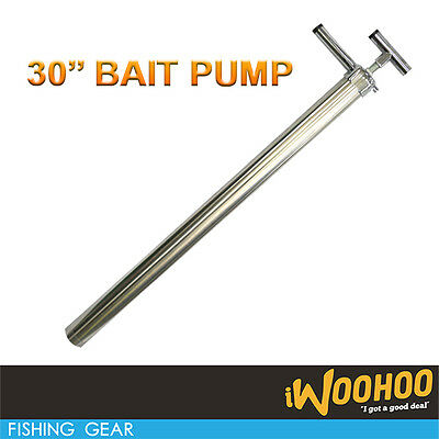 "Yabbie/Live Bait Pump 30"" Stainless Steel Fishing Pump"