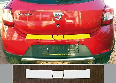 Clear Protective Foil Bumper Transparent Dacia Sandero Stepway from 2012