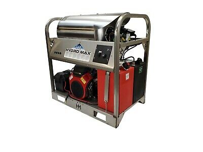 Hot/Cold Water Pressure Washer 6gpm/4000psi-new-SS Frame