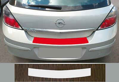 Clear Protective Foil Bumper Protection Transparent OPEL ASTRA H Saloon (04-09)