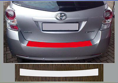 Clear Protective Foil Bumper Protection Transparent TOYOTA VERSO, from 2009