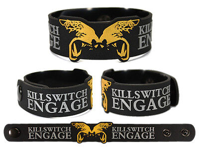 KILLSWITCH ENGAGE Rubber Bracelet Wristband The End of Heartache