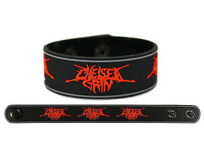 CHELSEA GRIN Rubber Bracelet Wristband Ashes To Ashes