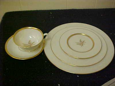Lenox Westfield Wheat 20 Piece Service For 4 First Quality