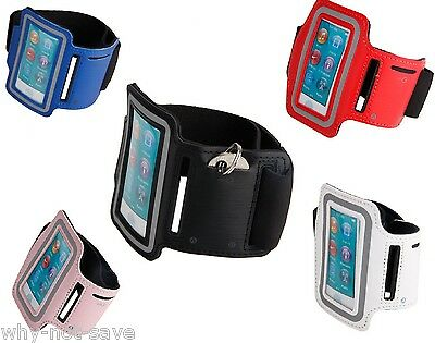 Nylon PU Leather sport Armband Case Cover for IPOD NANO 7 7th generation A1446