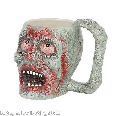 Zombie Ceramic Mug Undead Halloween Gift Coffee Mug Tea Walking Dead Scary