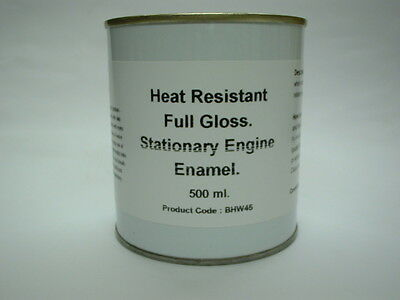 1 x 500ml Lister Mid Brunswick Green. Stationary Engine Full Gloss Enamel Paint