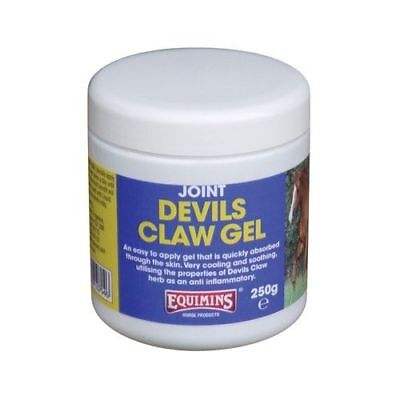 EQUIMINS DEVILS CLAW GEL quickly absorbed pain relief joints arthritis horses