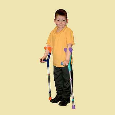 Tiki Childrens Open Cuff Elbow Crutches Disability Aids From Bayliss Mobility