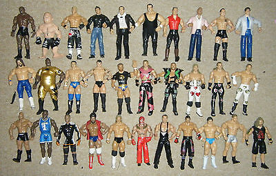 Wwe Wrestling Figure Classic Jakks Action Figurine Superstar Wrestler Mattel Tna