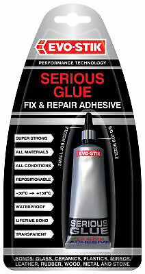 2 x Serious Glue 5g Super Strong Adhesive Evo-Stik 663671 new