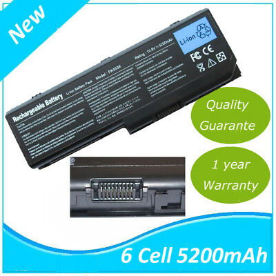 BATTERIE pc portable 5200mAh pour Toshiba Satellite Pro P200 P300 PA3536U-1BRS