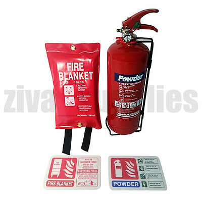 【LANDLORDS & TENANTS FIRE SAFETY】Powder Extinguisher/Blanket/Sign/Signs/Student