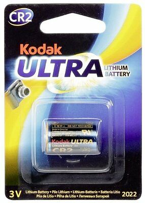 Kodak Ultra CR2 3V Lithium Battery Exp 2022