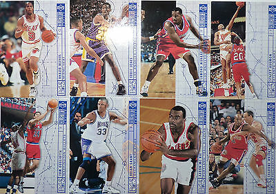 Lot de 8 Cartes cards basket - NBA Upper Deck COLLECTOR'S CHOICE 1994/95