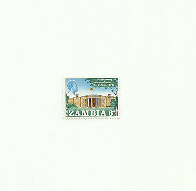 Zambia 1965 first anniversary of independence