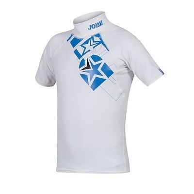 JOBE - Rash Guard Lycra Exceed Youth Blue - taille 6 à 14 ans - confort-solide