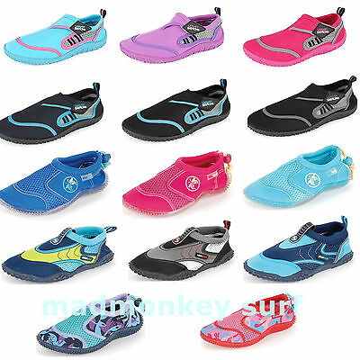 URBAN BEACH AQUA WATER SHOES KIDS CHILDRENS INFANTS JUNIORS ALL SIZES swimming s
