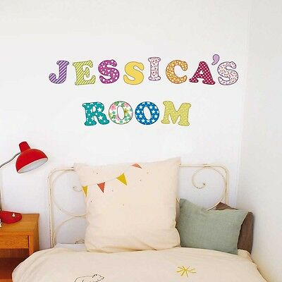 Wall Stickers Mural Decal Paper Art Decoration Magic 59 Letters Kids Children