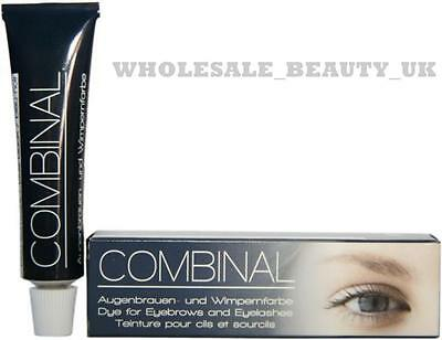 Combinal Dye For Eyebrows and Eyelashes Brown Tint 15ml