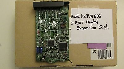KX-TVA503 2-PORT Digital Expansion Card.