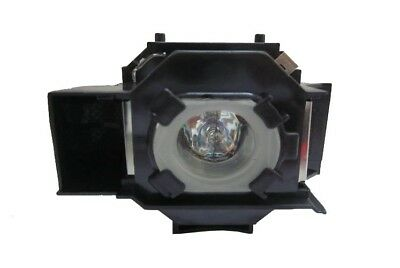Original Equivalent Bulb in cage fits EPSON Powerlite S3 Projector