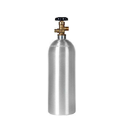 2.5 lb. CO2 NEW Aluminum Cylinder Tank - Great for Kegs, Homebrewing Beer & Soda