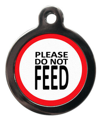 Please Do Not Feed Pet Dog Cat Medical Informative Tag Pet Tags