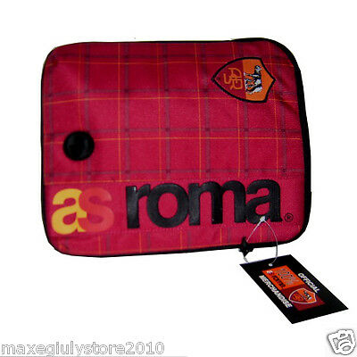 AS ROMA ORIGINALE CUSTODIA COVER TABLET 27X22X3cm BAGS203 con foro x cuffiette