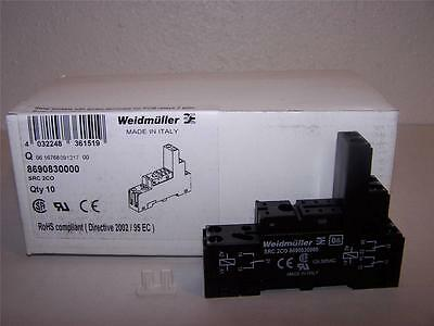Weidmuller 8690830000 Src 2Co Relay Base New In Box Lot Of 10