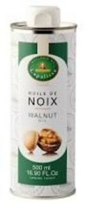 FRENCH IMPORTED WALNUT OIL 500ml - Pure Oil for Salads & Dressing