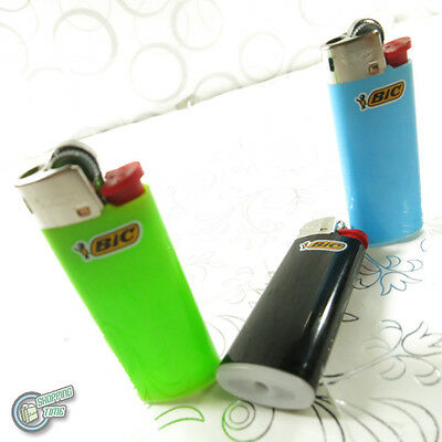 3x Bic Child Guard Cigarette Cigar Lighter Mini Small J25 made in france tobacco