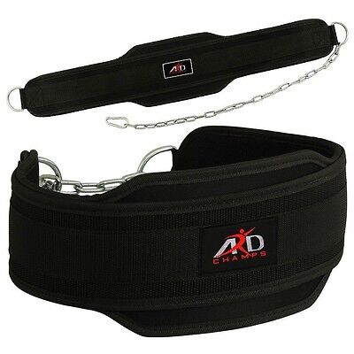 Neoprene Weight Lifting Dipping Belt Exercise Belt Fitness Boddy Building Belt
