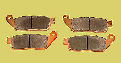Honda CB600F Hornet sintered front brake pads (1998-2013) FA226HH type, 2 pairs