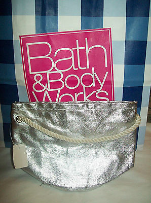 Bath & Body Works Gift Bag You choose color Silver, Gold or Red