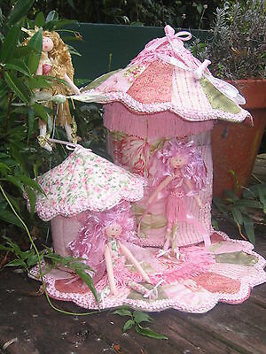 Cloth Doll Pattern - Phoebe, her Fairy House & Garden